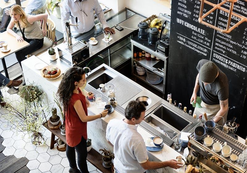 img POS for coffee shop calbiz